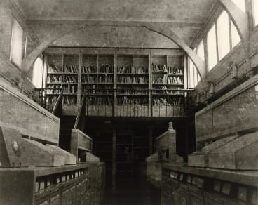 Jane Brown, <i>Decommissioned art history library, University of Melbourne</i>, 2012-2013, from the <i>Not before time series</i>. Courtesy of Jane Brown and Stills Gallery, Sydney