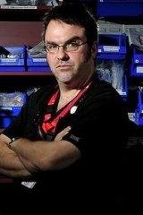 Dr David Caldicott.