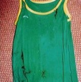 This singlet was recovered from one of the sexual assaults in Sydney's eastern suburbs.