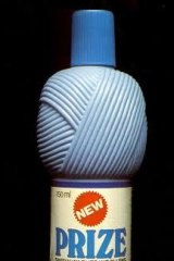 The Prize wool detergent bottle.