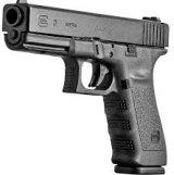 A glock gun, popular on the black market
