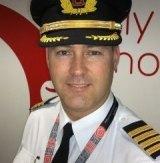 Qantas pilot Jerem Zwart.