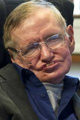 Theoretical physicist Stephen Hawking, who will play an advisory role on the project.