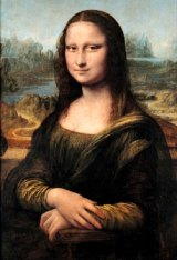 'I just don't see why of all the paintings that is the famous one ... it really could have been any of them here': an 11-year-old's take on the  <i>Mona Lisa</I> at the Louvre.