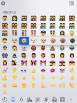 Apple branches out: a beta software upgrade reveals a colour palette will allow customisation of emojis.