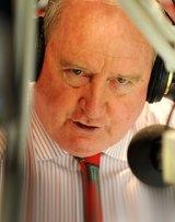 Conservative radio host Alan Jones, not holding back.