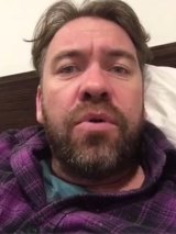 "Actor Brendan Cowell calls on the Prime Minister to ""show some balls""."