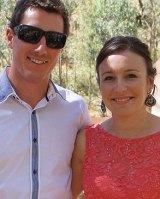 Stephanie Scott and Aaron Leeson-Woolley.