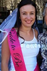 Stephanie Scott posted this photograph to her Facebook page from her hen's day.