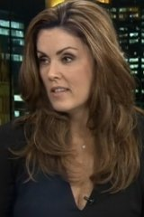 Peta Credlin talking to Andrew Bolt.