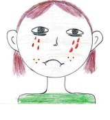 Drawing by unnamed child in detention.