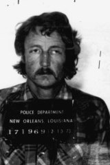 A 1973 mugshot of Raymond Grady Stansel Jr. from the New Orleans Police Department.