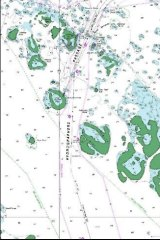 Mapping by James Bond for the Australian Hydrographic Service.