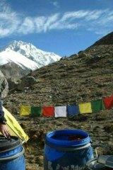 Mount Shishapangma in Tibet.