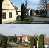 Photos of the town of Megyer, which is up for rent.