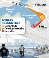 The Sydney Fish Market is relocating to a site adjacent to its current position backing on to Wentworth Park.