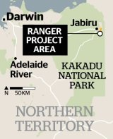The town of Jabiru was built quickly to support the mine.