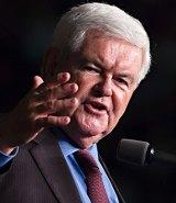 Big Trump supporter: Ex-House Speaker Newt Gingrich.