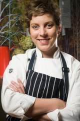Badass Biscuit Co owner and chef Katrina Higham.
