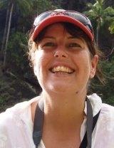 Happy to give: Intrepid Travel employee Sue Elliot.