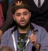 Zaky Mallah on <em>Q&A</em>.