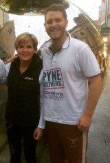 Jack Walker, a staffer for Christopher Pyne, was arrested in Malaysia. He is pictured here with Foreign Affairs Minister Julie Bishop.