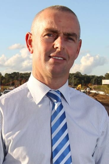 State MP for Camden Chris Patterson.