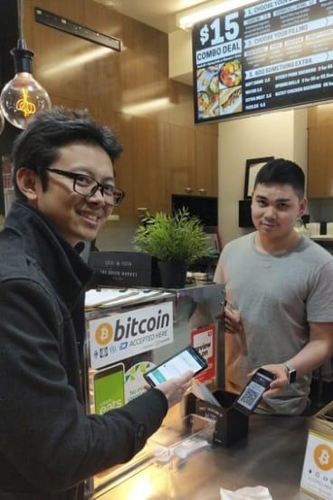 TravelbyBit CEO Caleb Yeoh.