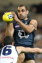 Chris Yarran was drafted to Carlton in 2008.