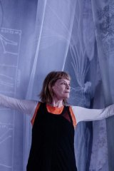Janet Laurence at her new installation After Nature.