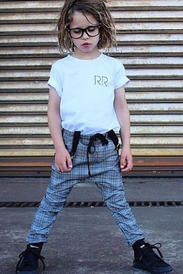 Customers are encouraged to share pics of their kids wearing the label using #RepRaisingRiley
