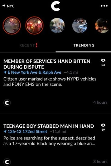 Citizen and apps like it raise questions around ethics and responsibility of bystanders.