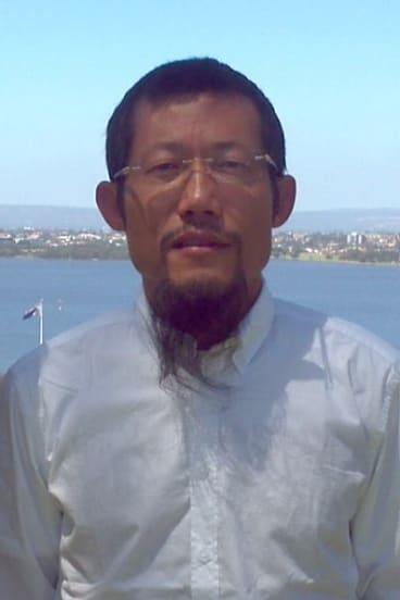 Hongchi Xiao in Australia in 2013.