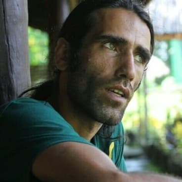 Iranian refugee Behrouz Boochani.