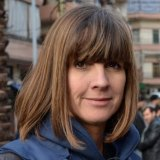 Al Jazeera correspondent Sue Turton.