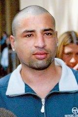 Andrew Veniamin, who was shot dead in a Carlton restaurant on in 2004.
