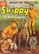 """Skippy the magazine in the 1960s – """"first exciting issue""""."""