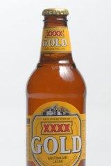 The XXXX Gold logo which had been in use since 2008.