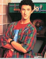 Diamond as Screech in Saved by the Bell.