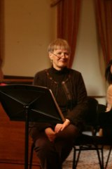 Eilene Hannan giving a masterclass.