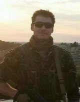 Ashley Johnston, who was killed fighting for the Kurds in Syria.