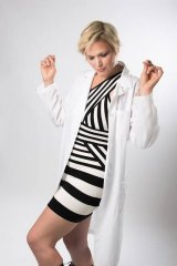 SciBabe brings rock and roll to the white lab coat.