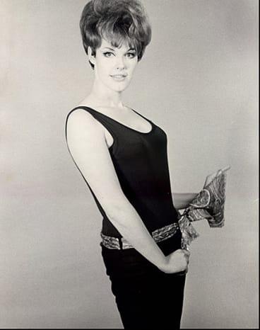 Aleshia Brevard as a model, 1962,