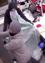 The Melbourne cigarette robbery. Most such robberies have a precise division of labour - one investigator likened it to a military operation.