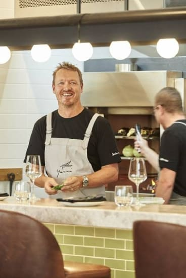 Chef Aaron Carr.