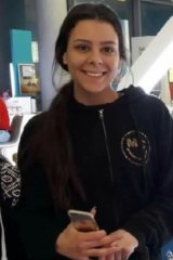 Missing: Sydney teenager Cassie Olczak.