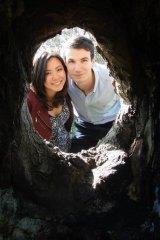 Elaine Teoh and her boyfriend Emiel Mahler.
