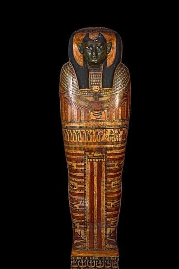The inner coffin of Shepenmehyt. c600 BCE.