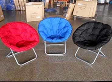 Woolworths Home Collection Padded Flop Chair cannot hold the advertised weight.