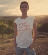 Every Mother Counts: Christy Turlington.
